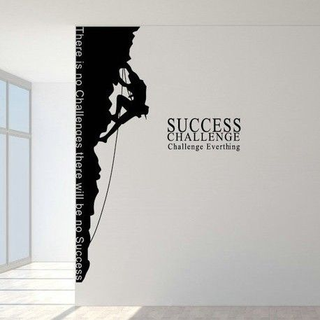 The climber company office wall stickers home decor decals sticker art