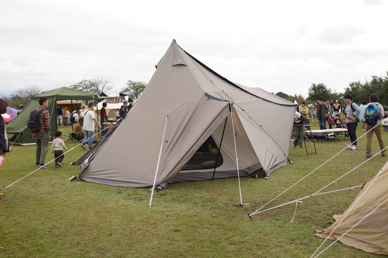 ヤドカリ テント