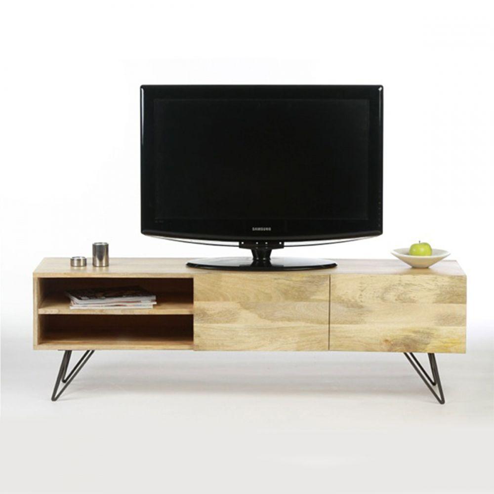 Meuble Tv Manguier Baltiq Mobilier De Salon Meuble Tv Meuble