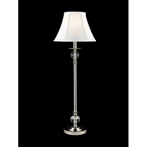 Found it at wayfair buffet 32 h table lamp with bell shade