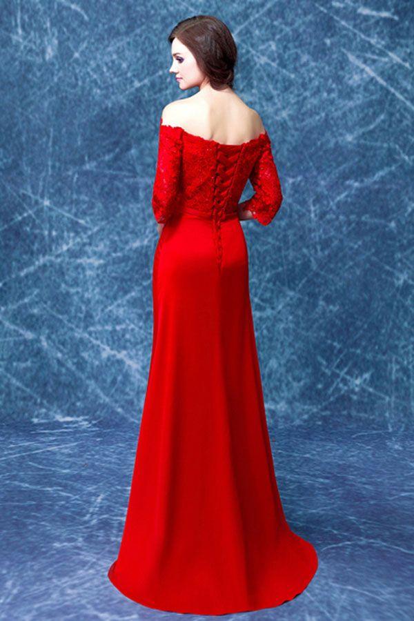 Off Shoulder Satin Wedding Dress   Off The Shoulder Wedding Dresses ...