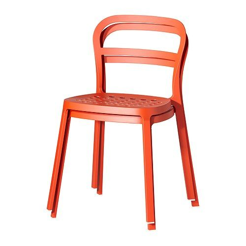 REIDAR Chair, Orange  These Are My Very FAVORITE Chairs At Ikea!
