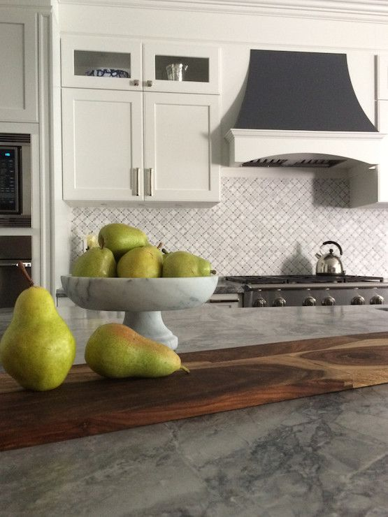 Honed and Leathered Finish on Countertops, Transitional, Kitchen, Meredith Heron…