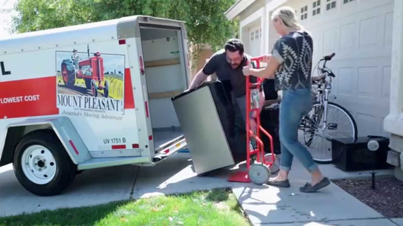 College moving uhaul trailers for students trailer