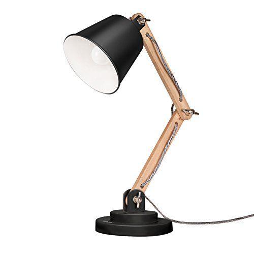 Tomons Scandinavian Desk Lamp Natural Wood Table Lamp R Https Www Amazon Com Dp B01fq7crxe Ref Cm Sw R Desk Lamp Scandinavian Desk Lamp Table Lamp Wood