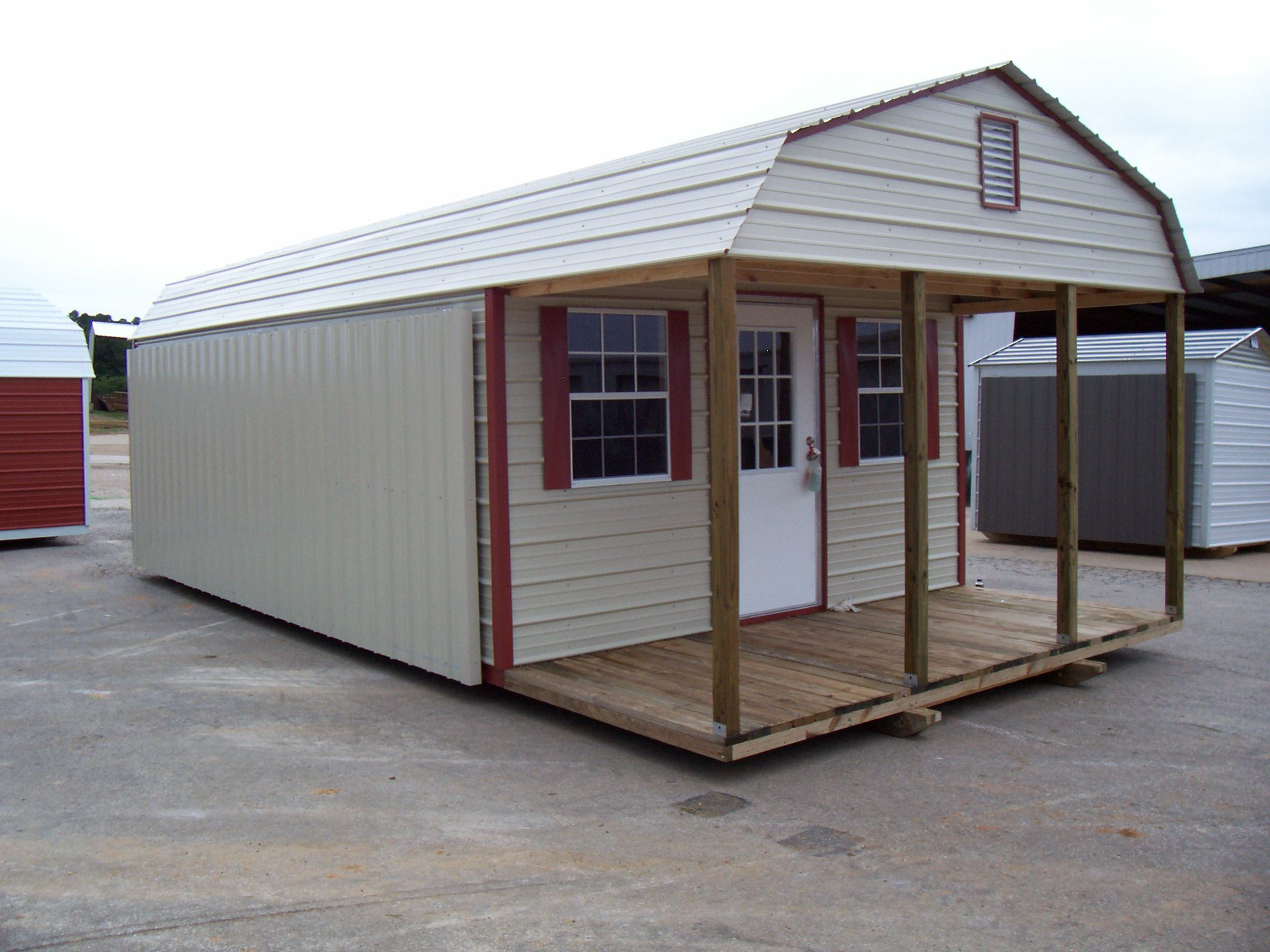 Metal barns with living quarters general shelters for Metal buildings with living quarters plans