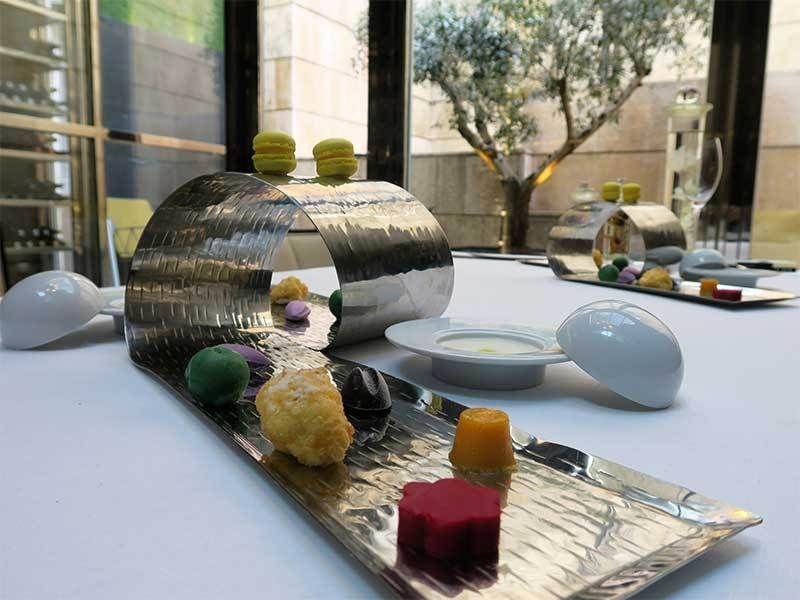 Restaurante Cebo Menu Somos 1 Estrella Michelin Hotel Urban