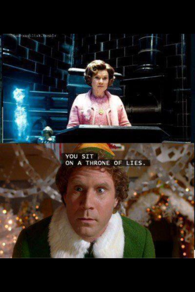 You Smell Like Beef And Cheese Umbridge Harry Potter Harry Potter Obsession Harry Potter Elf