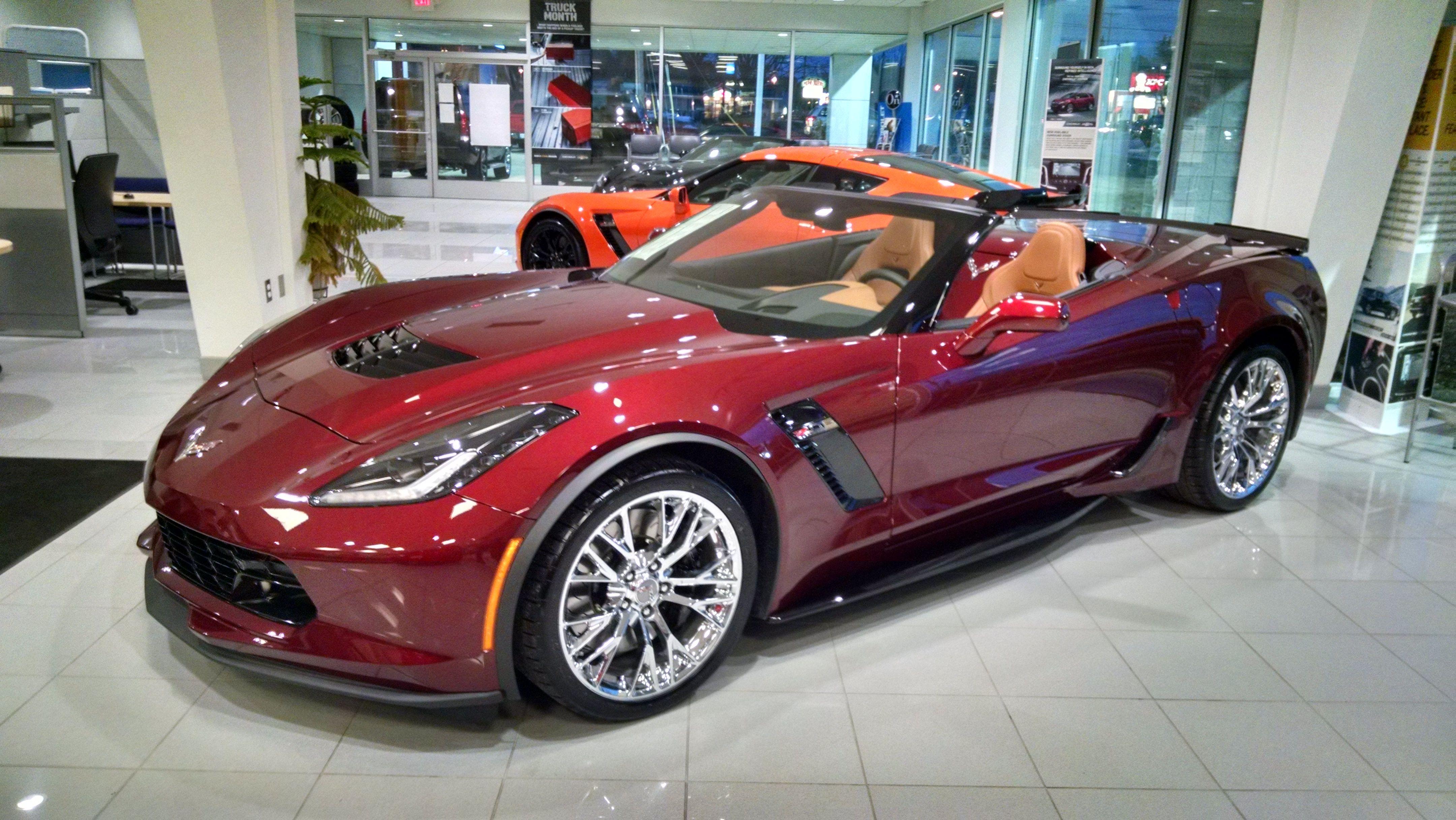 New Chevrolet Corvette® For Sale Midland Chevrolet