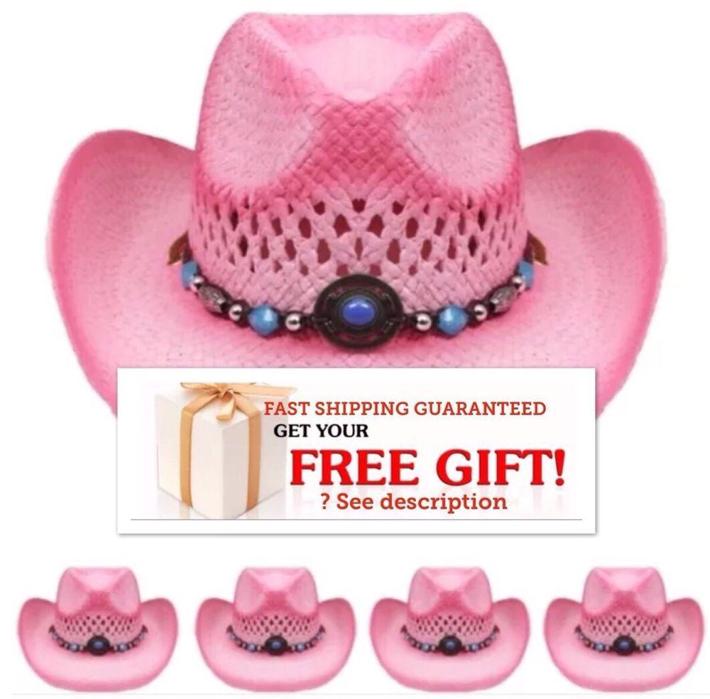 Western COWBOY HAT PINK Cap Cowgirl Cap MEN WOMEN VALENTINES | HAT ...