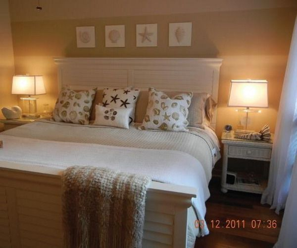 Beach Theme Master Bedroom Redecorating