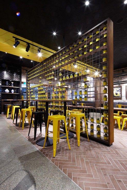 Un restaurant design | design d\'intérieur, décoration, restaurant ...
