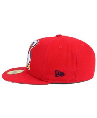 on sale 261cf 8bed5 New Era Springfield Cardinals MiLB Logo Grand 59FIFTY Fitted Cap - Red 7 5 8