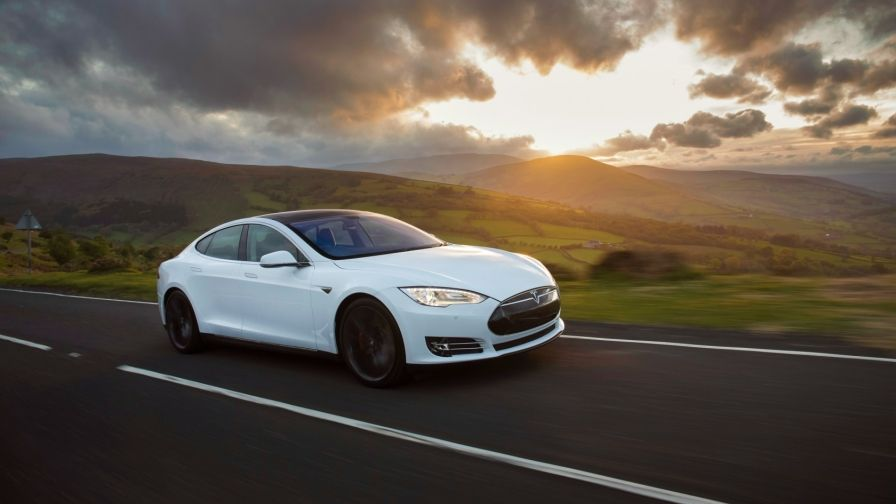 tesla model s white hd wallpapers download Tesla model s