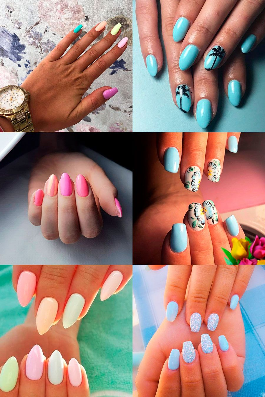 cute summer nail designs to copy right now in nails