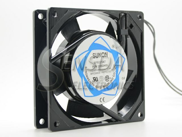 9cm Fan Case Cooler Sunon Sf9225at 2092hsl 9025 9225 90mm Ac 110v