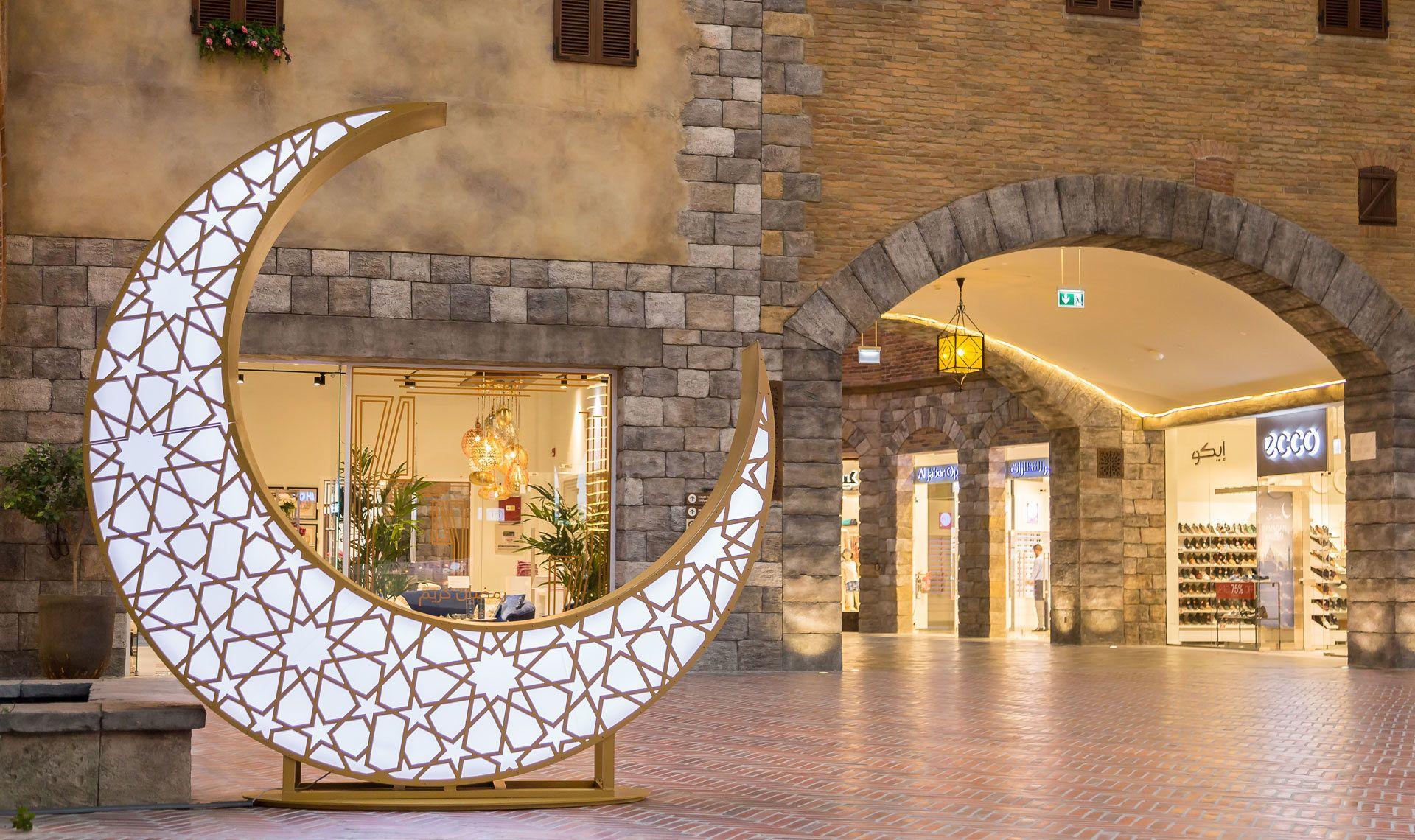 Lighting Up The Night For Ramadan Mk Illumination Mkillumination Ramadan Festivelighting Extraordina Ramadan Decorations Traditional Lighting Moon Decor