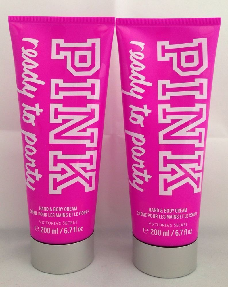 2 Victoria S Secret Pink Ready To Party Hand Amp Body Cream 6 7