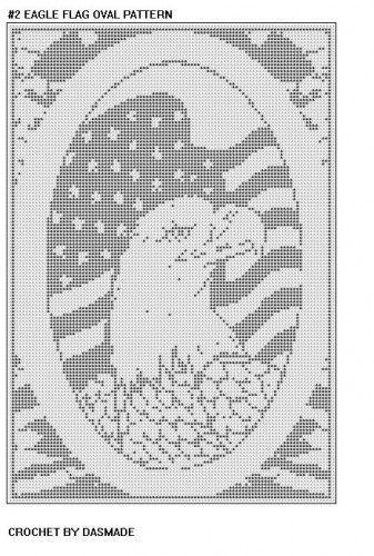 EAGLE FILET CROCHET PATTERNS - Crochet — Learn How to Crochet | odd ...