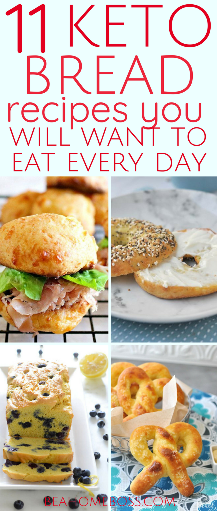 Best Keto Bread Recipes #ketorecipesforbeginners