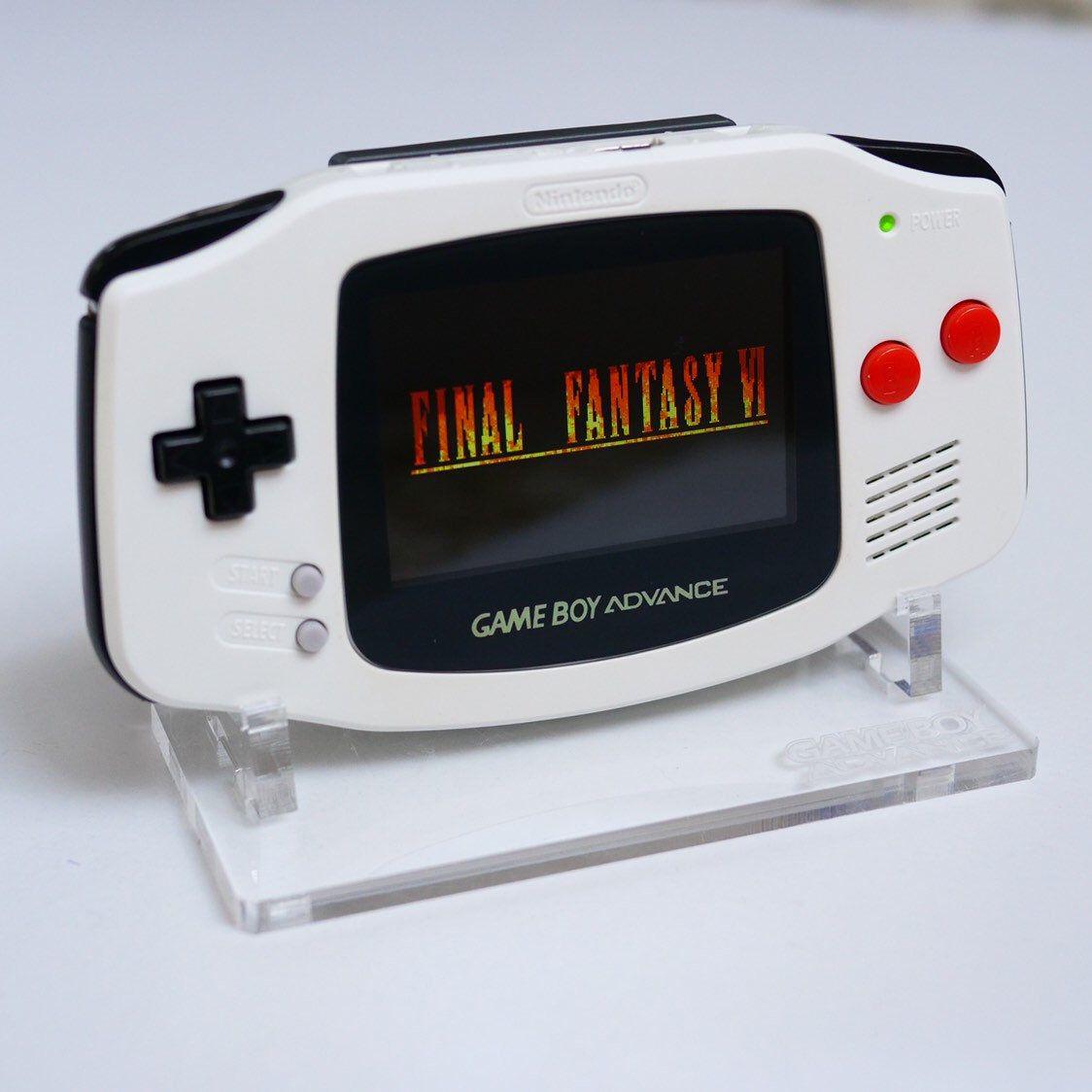 Final Fantasy Edition Gameboy Advance Custom Gba Backlit