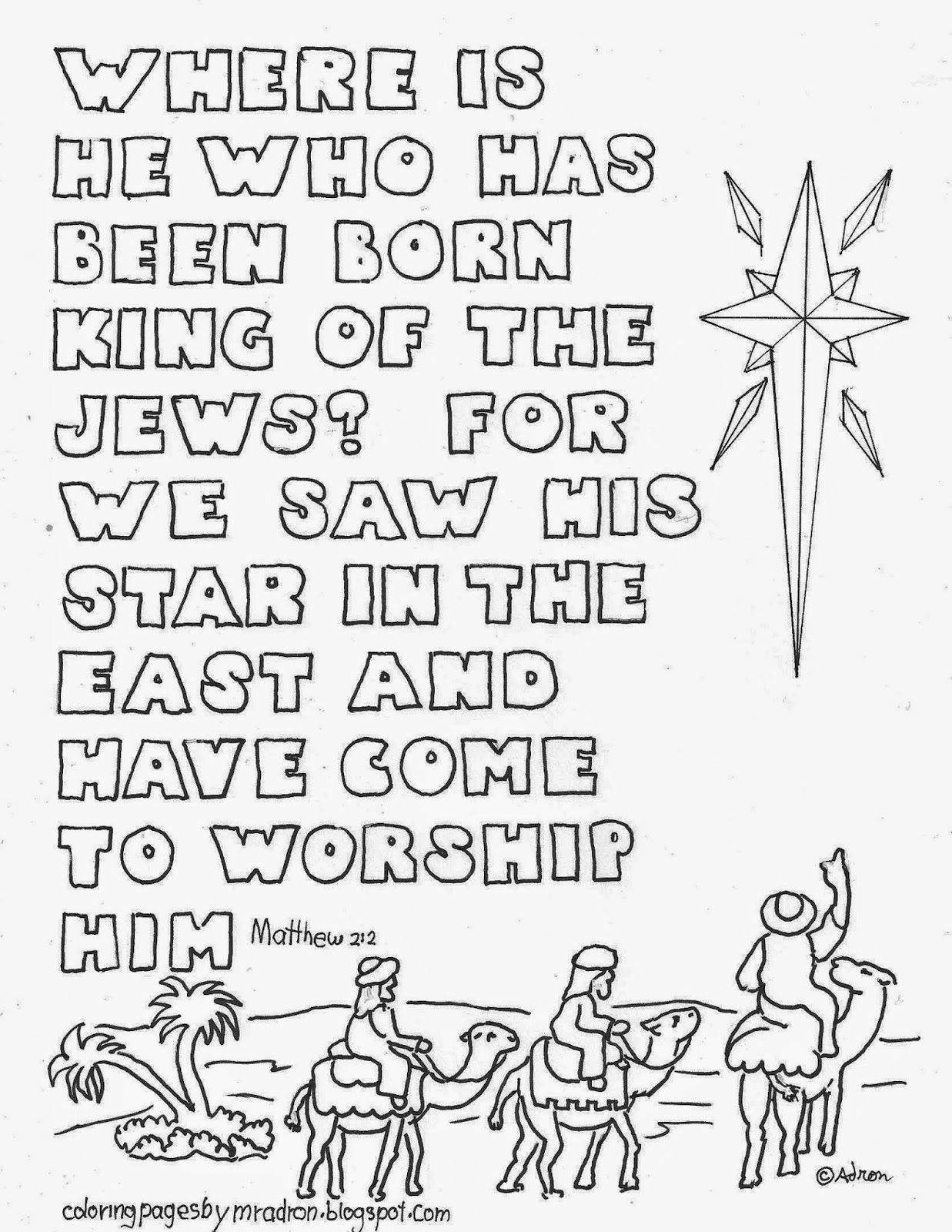 christmas star and bible verse coloring page see more at my blog http