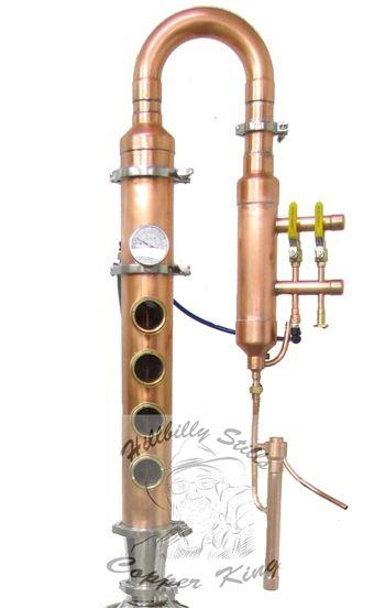 Hillbilly Flute Gen 2 Distillation Column 4 Plate In 2019