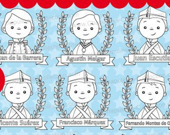 60 Desc Niños Héroes Clipart Ilustraciones Escuela Imágenes