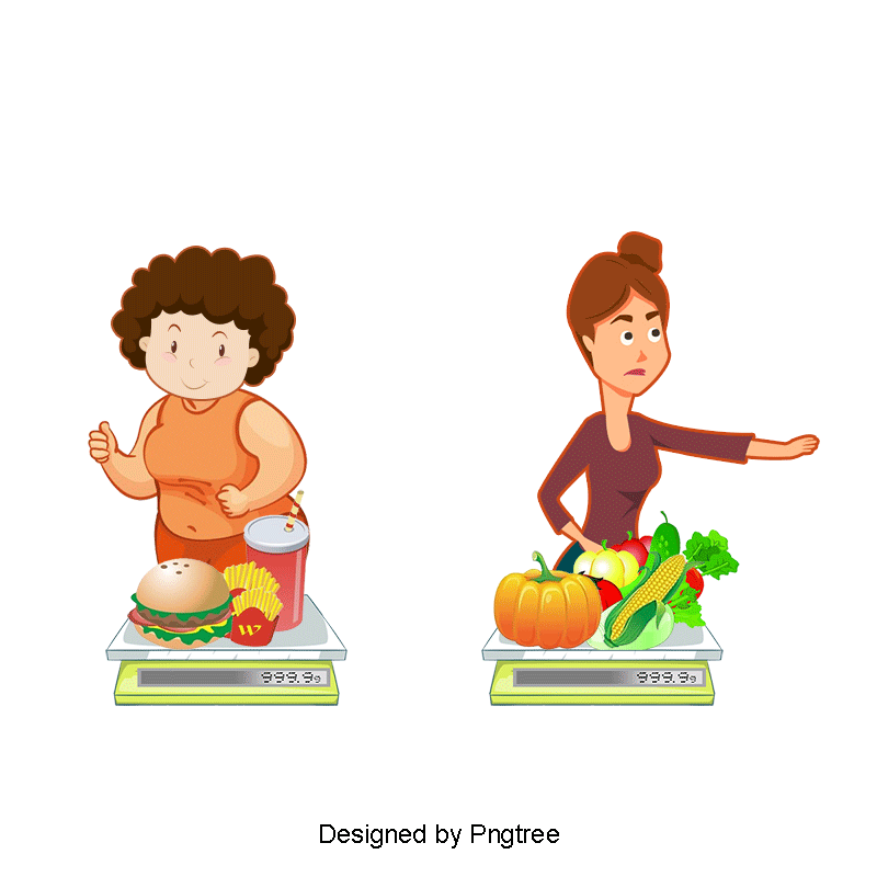 Junk Food And Healthy Food Compare Cartoon Ae Vector Files Png Transparent Image And Clipart For Free Download Junk Food Food Clipart Healthy Recipes