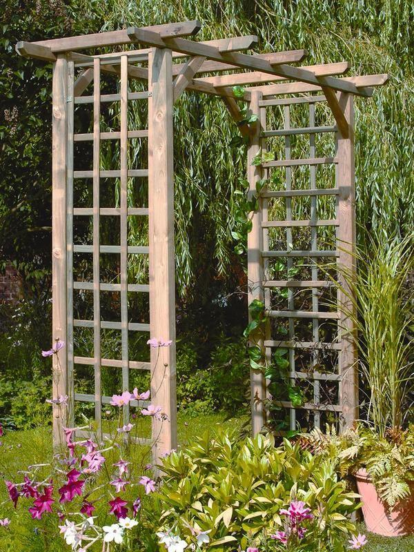 FOREST Classic Wooden Garden Arch | littlewoods.com