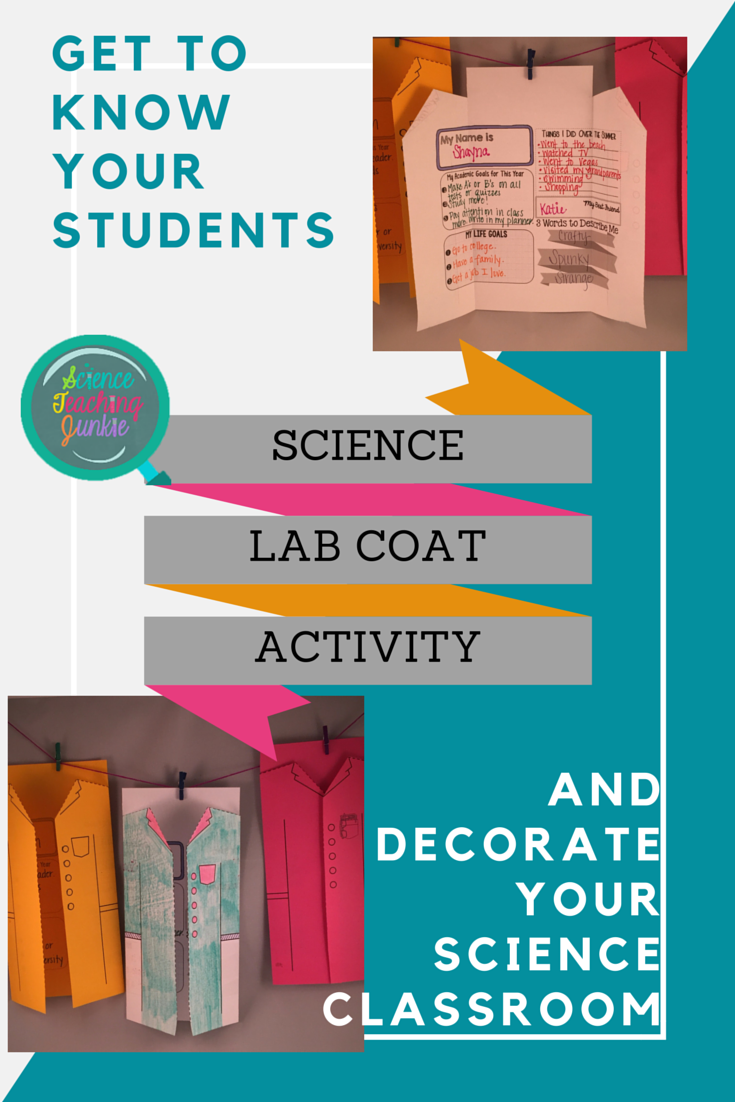 Students Create A Science Lab Coat