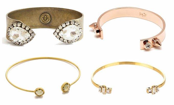 Inspiration open cuffs 1) Loren Hope | 2) Maria Francesca | 3) Tai | 4) AV Max