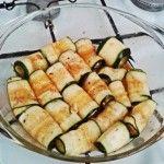 Chutné cuketové rolky plnené syrom