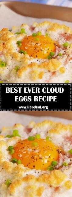 BEST CLOUD EGGS RECIPE - HOW TO MAKE CLOUD EGGS - #recipes #cloudeggs