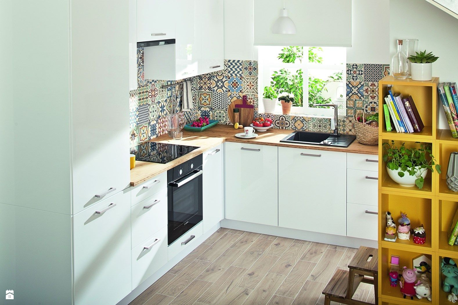 Kuchnia Styl Skandynawski Zdjęcie Od Castorama Fajne Kafelki I
