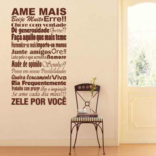tendencia para design interior adesivos esbocos e escrita na parede