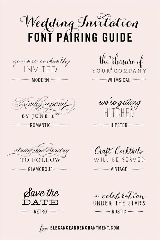 5 Ways to Use Handwritten Calligraphy as Wedding Decor