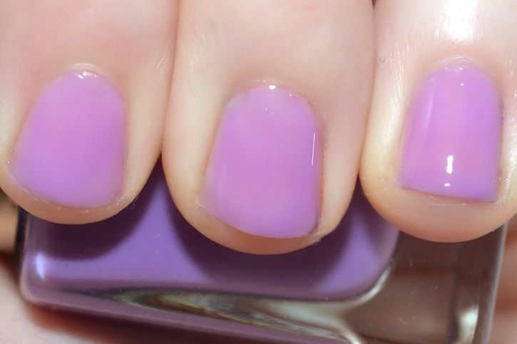 L Oreal Miss Candy Colour Riche Nail Polish In Lilac Coolers