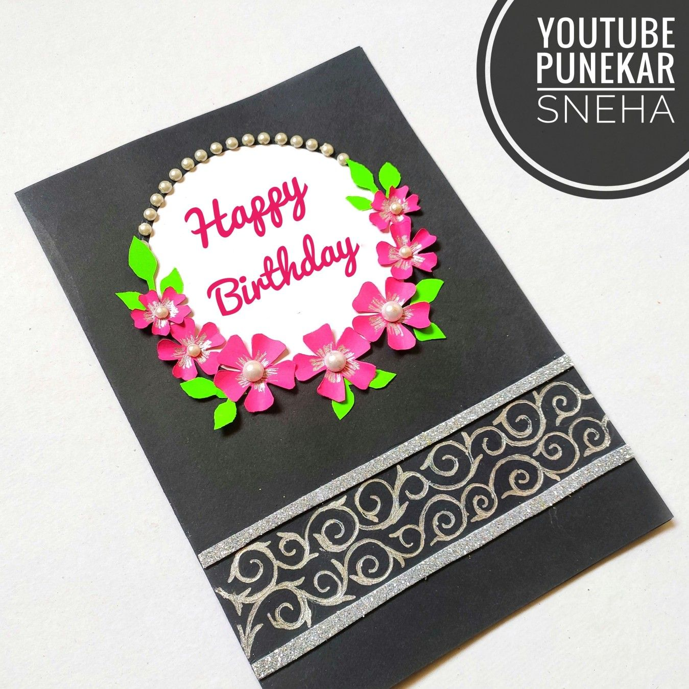 Birthday Greeting Card Making How To Make Diy Crafts By Punekar Sneha Special Birthday Cards Card Making Birthday Birthday Greeting Cards