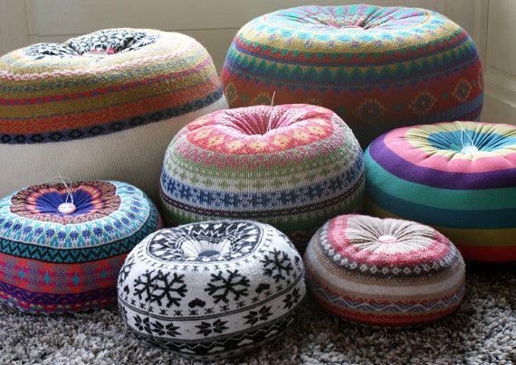 les 25 meilleures id es de la cat gorie poufs sur pinterest sol pouffe pouf marocain et. Black Bedroom Furniture Sets. Home Design Ideas