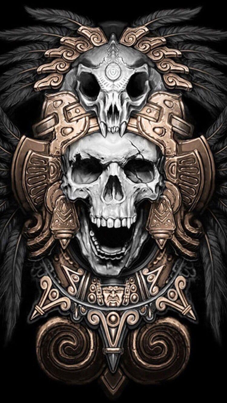 Wallpaper For Iphone 6 Aztec Tattoo Aztec Art Tattoos