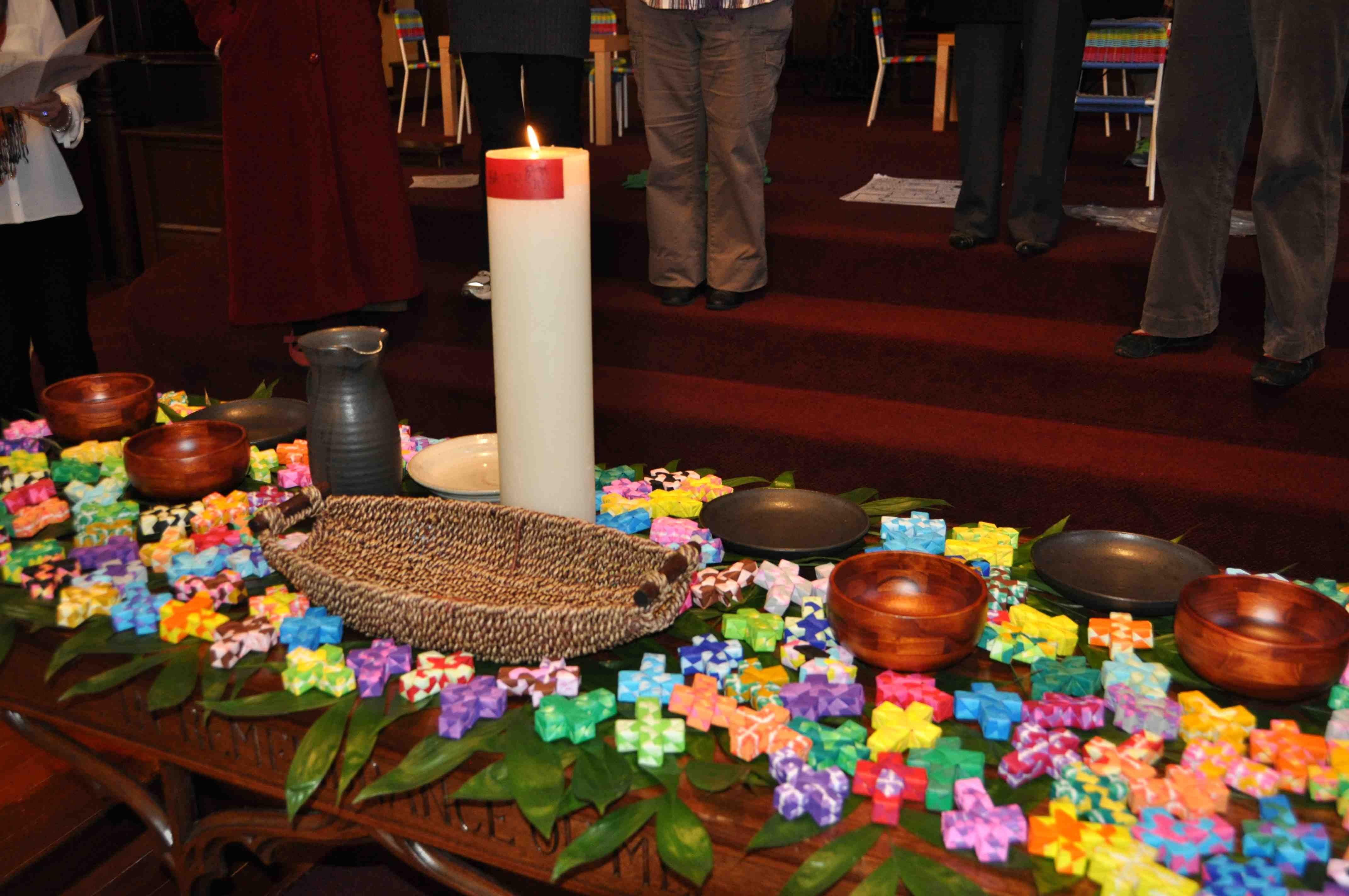 Interactive Prayer Stations site offers a multitude of