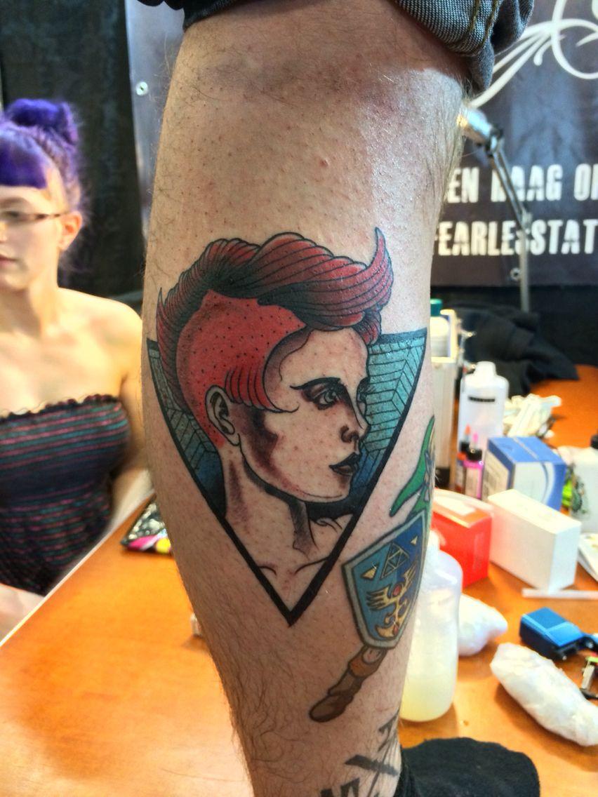 Ernesto Visser girl tattoo