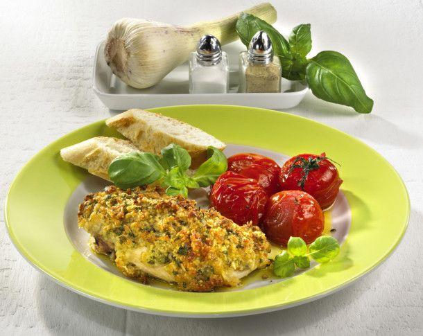 Unser beliebtes Rezept für Hähnchen mit Knoblauch Parmesan Kruste und mehr als 55.000 weitere kostenlose Rezepte auf LECKER.de.