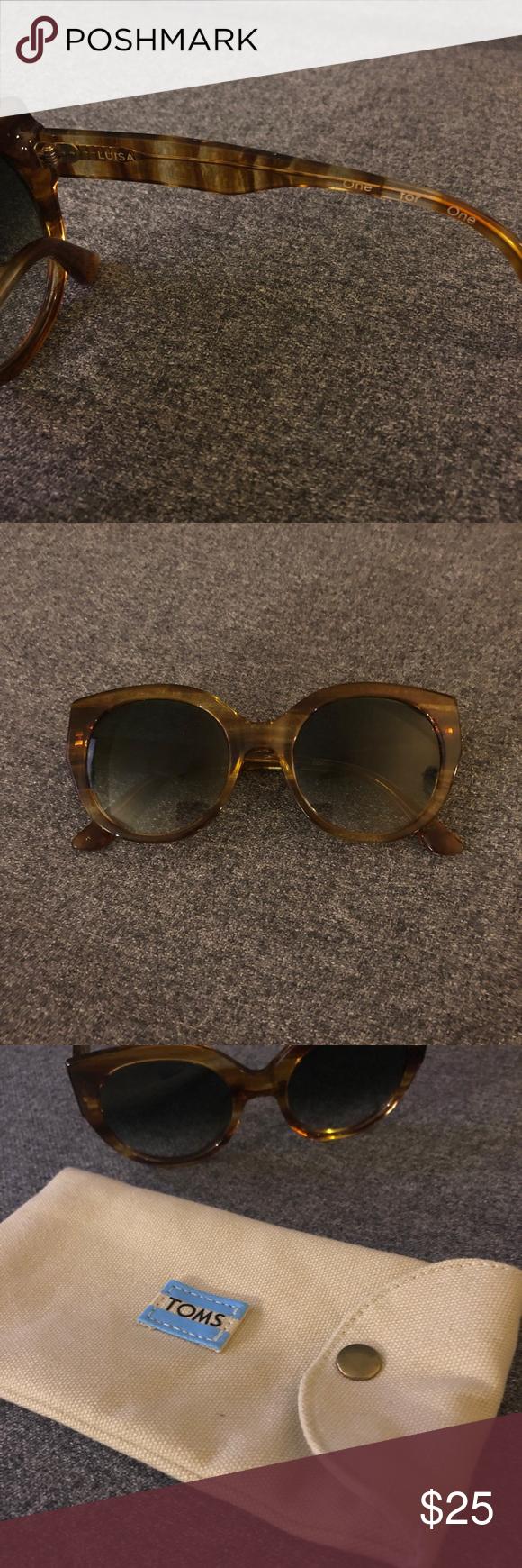 8bdce31d8f8fa TOMS Luisa cat-eye sunglasses Great tortoise look