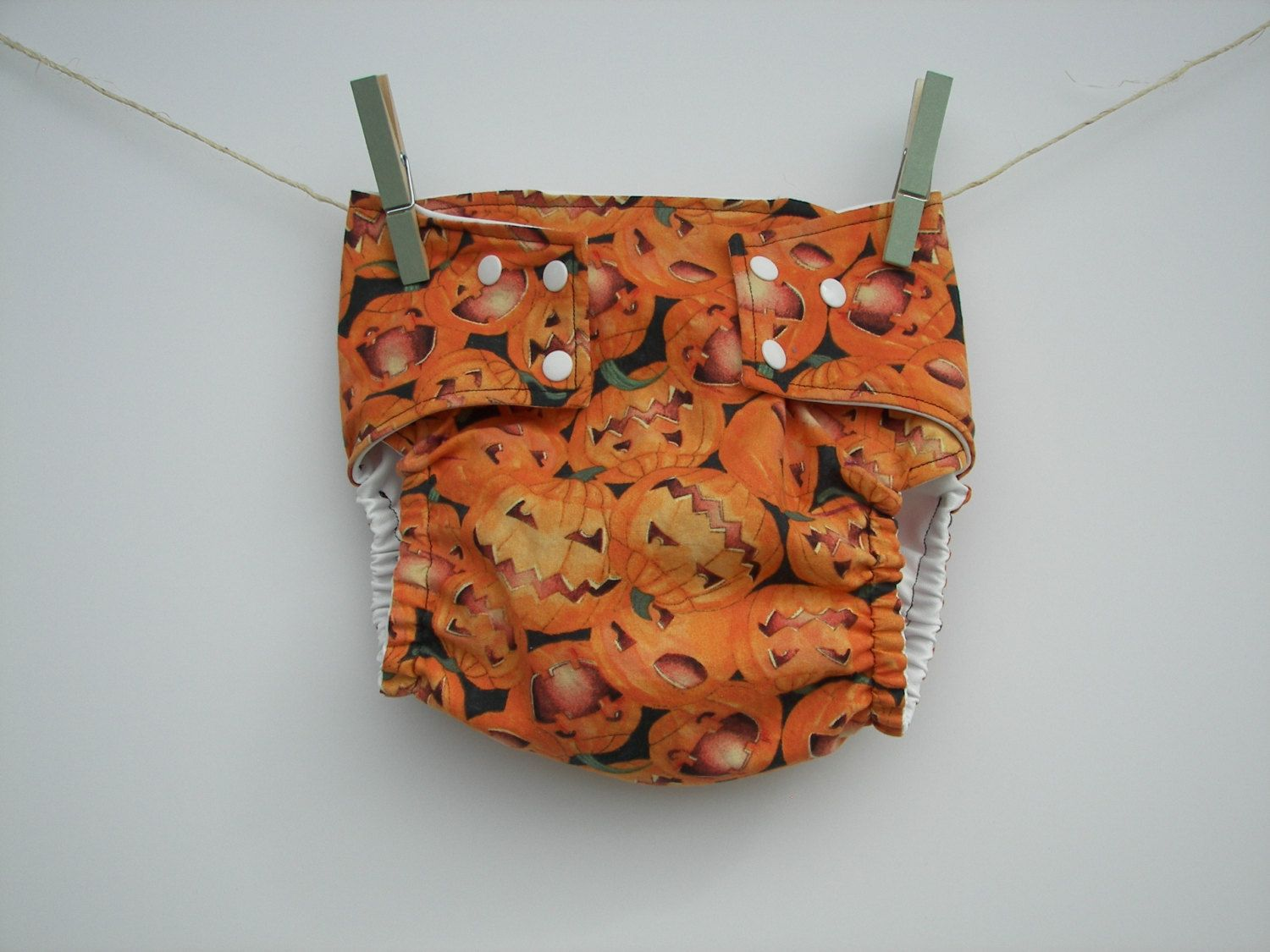 CUSTOM Water Proof Diaper Cover - Fall Pumpkin Halloween - One Size or Any Size with Fabric of Your Choice by SewSouthernMade on Etsy - CLICK PICTURE TO ORDER or go to Etsy.com/shop/SewSouthernMade