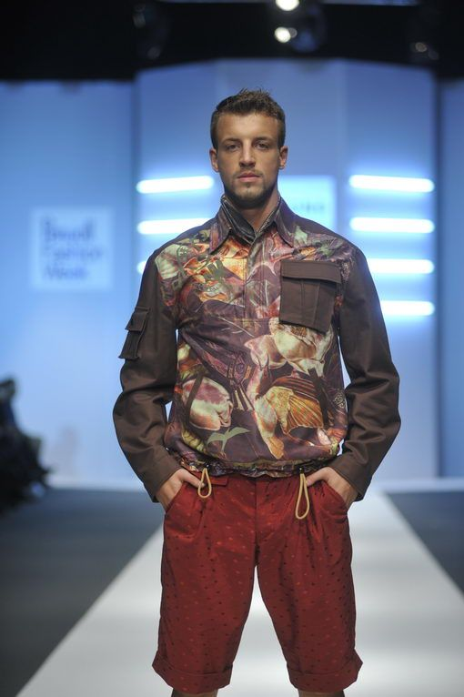 Robert Sever for ZONA 45 Fall 2014. Belgrade Fashion Week