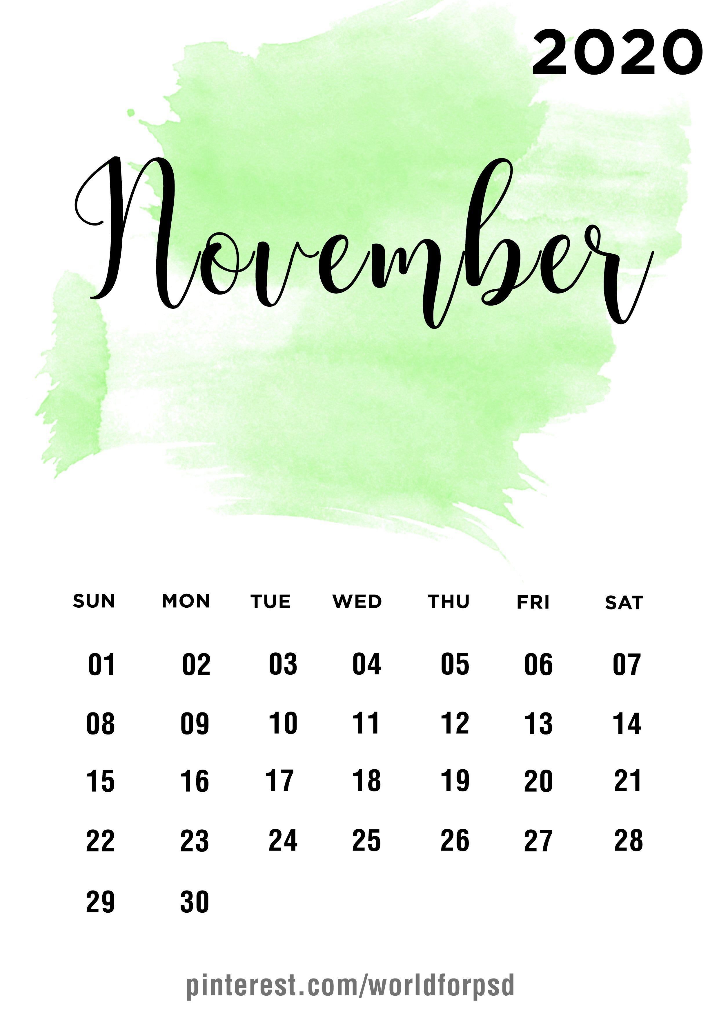 November 2020 Calendar Design Calendar Calendarideas Newyear Newyearcalendar 2020 En 2020 Calendario Para Imprimir Gratis Plantilla Calendario Ideas De Calendario
