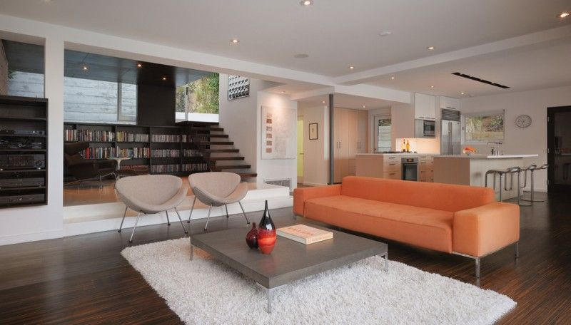 Pin On Contemporary Living Room #sunken #living #room #couch