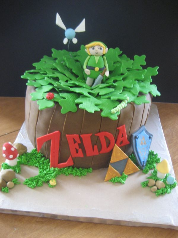 Geeky List Of 10 Awesome Legend Of Zelda Cakes Geeky Food